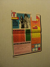 A057 MICHEL POLNAREFF '1972 FRENCH CLIPPING