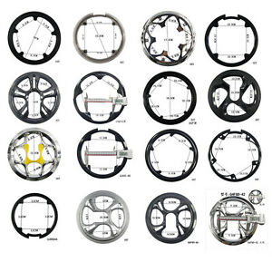 Bike Sprocket Cranksets Chainring Guard Protector Bicycle 36/40/42/44/46/48/52T