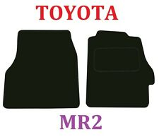 Toyota Mr2 & MR-S VVTi Deluxe Quality Tailored Car Mats in Black