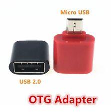 Micro USB a USB 2.0 ADAPTER MINI OTG 5 Pin Convertitore adattatore per Android