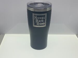 Nickel Plate Road Stainless 20oz Tumbler Coffee mug cup for HO O Scale modeler