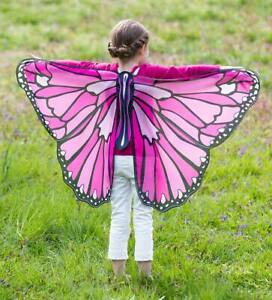 New Pink Butterfly Wings Cosplay Costume Kids by HearthSong