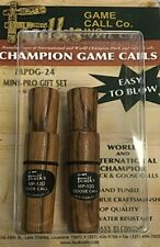 New Faulks Mini Professional Duck and Goose Call Set Free Shipping