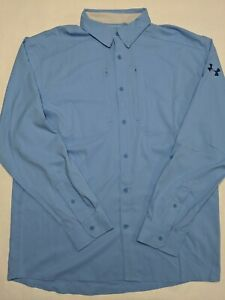 Under Armour New Tide Chaser 2.0 Long Sleeve Fishing Shirt Men's Large MSRP $60