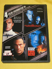 4 Film Favorites: Steven Seagal Collection DVD UndSieg/GlimmrM/AbovLaw/FireDown