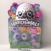 New Hatchimals CollEGGtibles 4 Pk + Bonus Season 1 Blind Teal Egg Cloud Cove