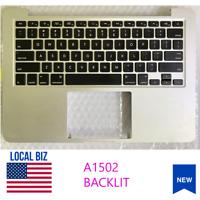 "Apple MacBook Pro 13"" A1502 Palmrest 2015 Top Case Backlit Keyboard 661-02361"