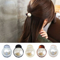 1 Pcs Faux Pearl Mini Jaw Clips Women Girl Hair Ponytail Claw Hairpin Clamps