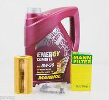 5 L MANNOL Energy LL 5W-30 Longlife MANN Ölfilter Audi A1 A3 A4 A6 TT 2,0TSFI