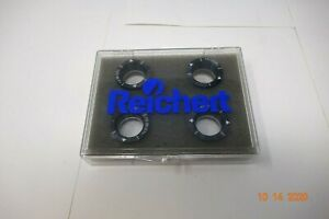 Reichert Phoropter Auxillary 4 Optor Lens Set +2.00 & +0.12 CYL (Free Shipping)
