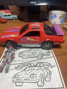 Kenner MASK Thunder Hawk Sports Car/Fighter Jet w/Matt Tracker action figure