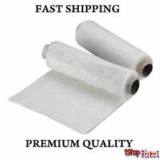 EXHAUST MOTORBIKE CAR 400MM X 1M 1SILENCER END CAN WADDING WOOL PACKING 10MM