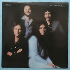 POCO ~ HEAD OVER HEELS ~ 1975 UK 11-TRACK LP RECORD ~ ABC ABCL 5137