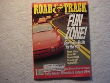 Road & Track 1990 November Dodge Monaco ES Mercedes 300TE Saturn Mitsubishi VR-4