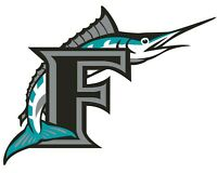 "Miami Florida Marlins MLB Vinyl Decal - You Choose Size 2""-38"""