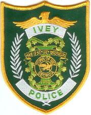 Ivey Police Patch Georgia GA NEW!!