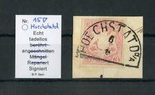 "BAYERN Nr.15 Bfs. HKS ""HOECHSTATD a/A 6"", bestgeprüft SEM BPP !!! (126793)"