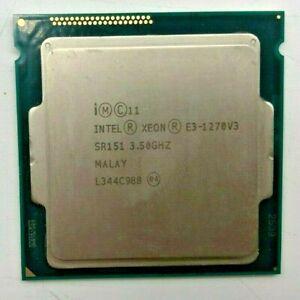 INTEL XEON E3-1270 V3 SR151 - 3,50GHz - Quad Core - Sockel LGA1150 #906