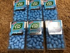 6 ~ TIC TAC Fresh Breath ~ Frosty Mint ~ 1 oz Singles