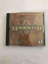 Elder Scrolls III: Morrowind (PC, 2002) 2 Dises Tested Rare Ships N 24hrs