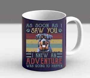 Funny Dog Mom Dad Rottweiler Ornament Gift For Dog Lover Owner Momma Coffee Mug