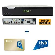 KIT DECODER EDISION COMBO SATELLITARE E TERRESTRE + SCHEDA TIVU SAT GOLD FULL HD