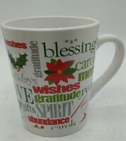ROYAL NORFOLK Merry Christmas wishes gratitude peace faith love12 oz  Coffee Mug