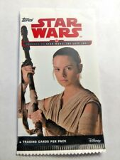 2017 TOPPS STAR WARS JOURNEY TO THE LAST JEDI PACK LOT OF (30) PACKS 4 CARDS PER