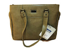 Kenneth Cole Reaction R-tech Work Tote Taupe 15 Inch Laptop Bag
