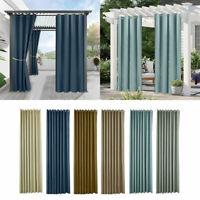 Outdoor Curtain Waterproof Blackout Home Shower Pergola Patio Shower Sun Panel