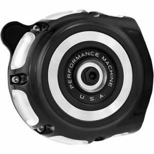 Performance Machine Vintage Air Cleaner for 1993-2017 Harley* Contrast Cut