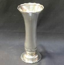 Gorham Hammered Art Nouveau Sterling Silver Vase