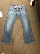 """GUESS LADIES   BOOTLEG JEANS SIZE 12/30"""""""