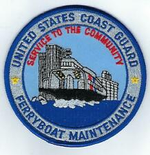 USCG Ferryboat Maintenance  (US Coast Guard Patch)
