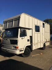 Leyland daf 45 Road Runner Horse Lorry JUST PASSED PLATING 4th July 2018-2019