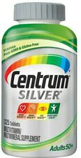 Centrum Silver Adults 50 Multivitamin Tablets - 325 Count Exp.02/22