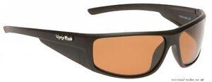 Ugly Fish Polarised Sunglasses Krypton PC3266 Matt Black With Brown Lens