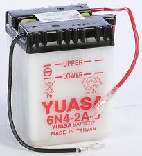 YUASA BATTERY 6N4-2A-5 YUAM2645A Fits: Kawasaki KM100,KV100,F7,G4TR,G5,MC1,F6,KH