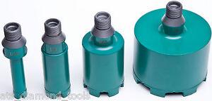 ATS Diamond Core Drill M14 Half Inch 1/2 Gas dual fitting Granite Marble Stone