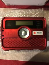 Weather Tracker FR800 Eton American Red Cross Edition. AM/FM Clock Radio