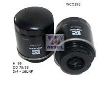 WESFIL OIL FILTER FOR Volkswagen Golf 1.4L TSi 2010 12/10-on WCO198