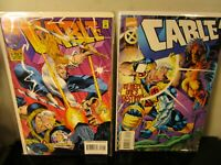 Cable #22 & 23 3 book lot Domino MARVEL~ BAGGED BOARDED~