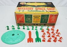 #150 VINTAGE 1960'S MARX GYRO MYSTERY SPACESHIP *ACCESSORIES AND BOX ONLY*