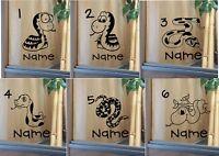 Customised Vivarium Decal Sticker  ** Snakes **