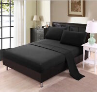 Bamboo Sheet Set- Black- King Size- Brand New in Package