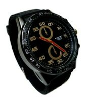 Men's Casual Watch Milano MC46941-45 Faux Chronograph Silicone Band Water Proof