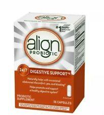 Align Digestive Care Probiotic Supplement 56 Capsules Exp date  2022