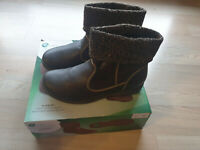 Stiefeletten  Halbstiefel Footflexx gr.40 Stiefel NEU