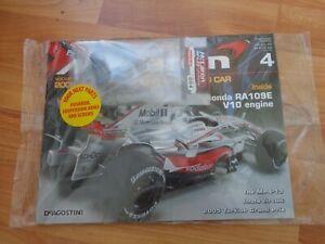 1/8 DEAGOSTINI BUILD YOUR OWN MCLAREN MP4/23 LEWIS HAMILTON 2008 F1 CAR ISSUE 4