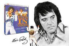 Elvis Presley - Elvis In Concert DVD Region 0 With both 5.1 & DTS Surround Sound